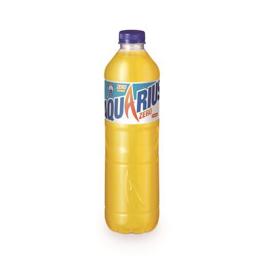 AQUARIUS Zero bebida refrescante aromatizada naranja botella 1.5 lt