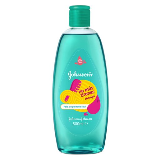 JOHNSON´S champú no más tirones bote 500 ml