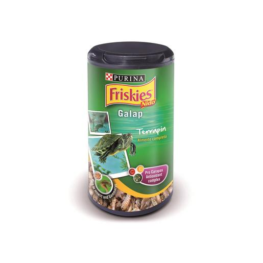 FRISKIES alimento para tortugas galápagos bote 25 g