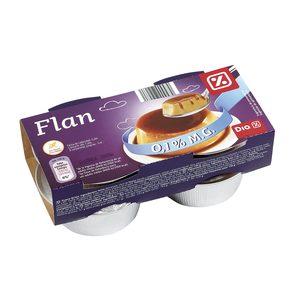 DIA flan de huevo 0% M.G. pack 4 unidades 100 gr