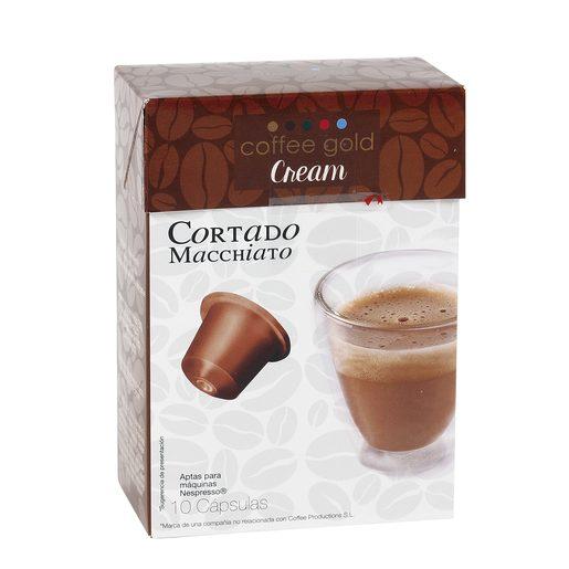 GOLD café cortado macchiato caja 10 uds