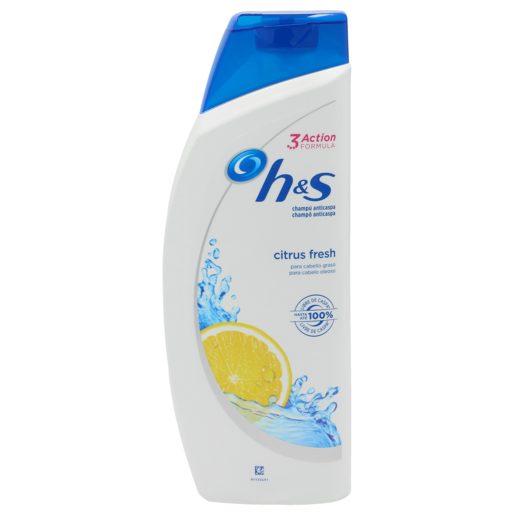 HS champú anticaspa citrus fresh cabello graso bote 540 ml