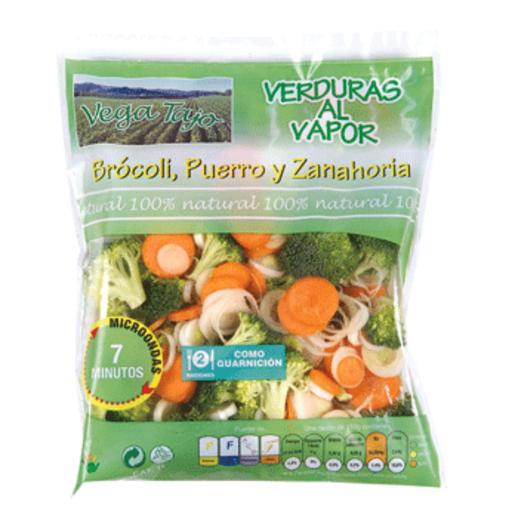 Verduras al vapor para microondas bolsa 300 gr