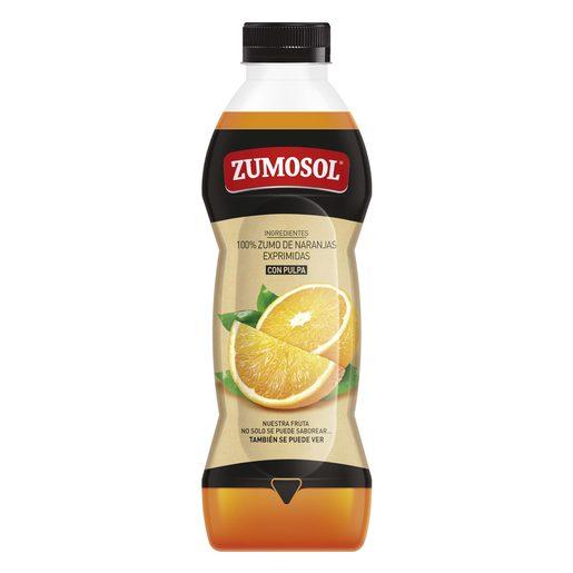 ZUMOSOL zumo de naranja exprimida botella 850 ml
