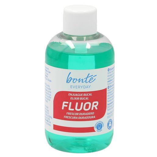 BONTE enjuague bucal flúor formato viaje botella 100 ml
