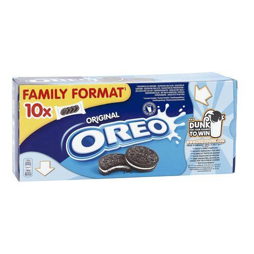 OREO galletas de chocolate rellenas de crema caja 10 uds 440 gr