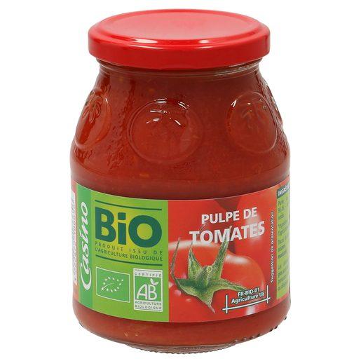 CASINO BIO tomate triturado frasco 400 gr