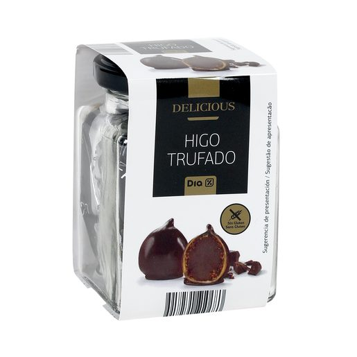 DIA DELICIOUS higo trufado con chocolate frasco 90 gr
