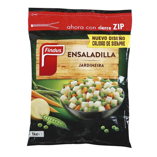 FINDUS ensaladilla jardineira bolsa 1 Kg