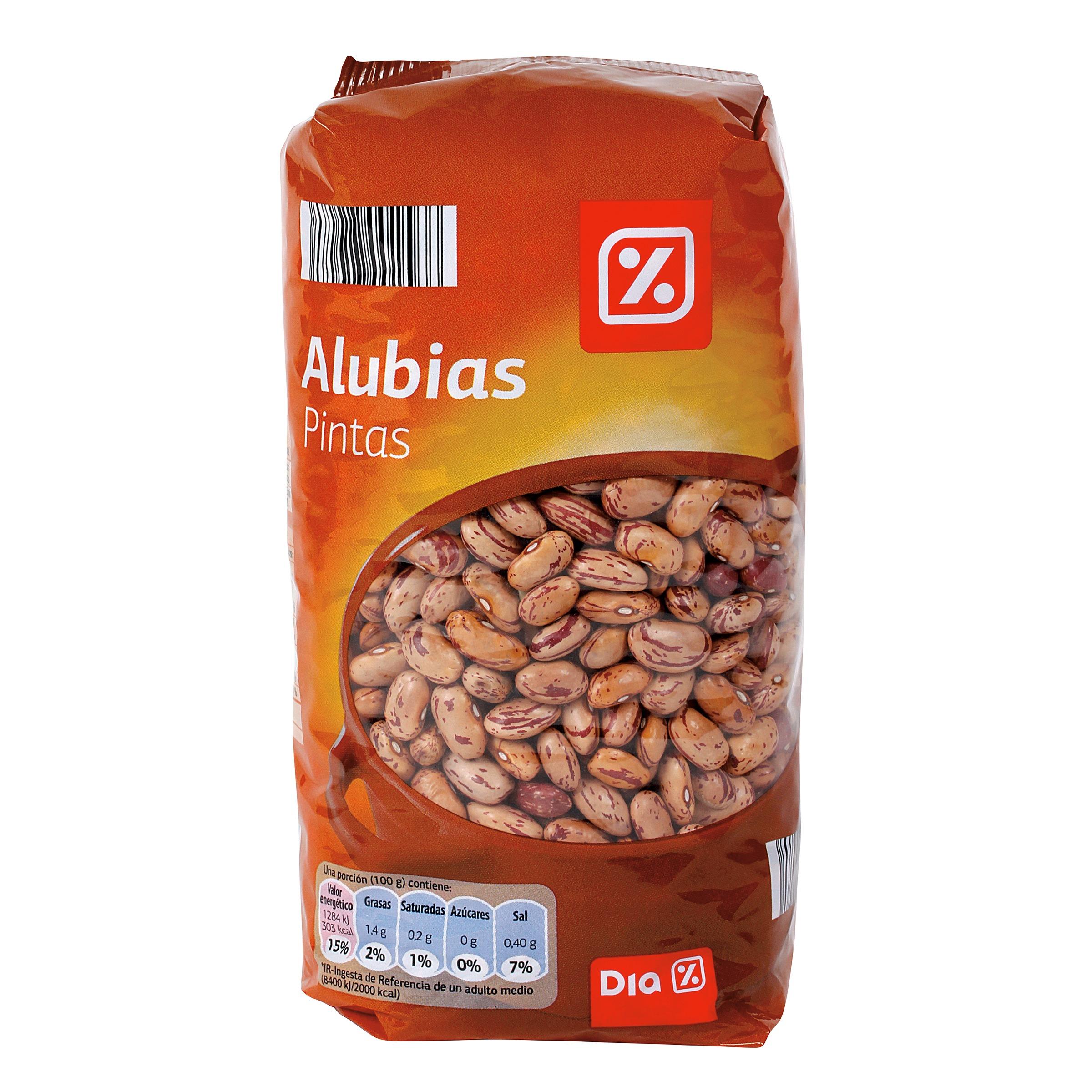 Dia judias pintas bolsa 1 k alubias supermercados dia - Guiso de judias pintas ...