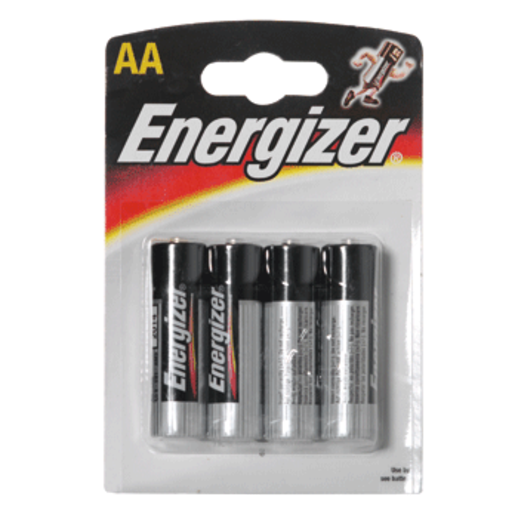 ENERGIZER pila alcalina  AA (LR6) blister 4 unidades