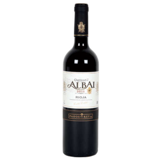 CASTILLO DE ALBAI vino tinto DO Rioja botella 75 cl