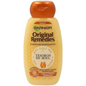 ORIGINAL REMEDIES champú tesoros de miel frasco 250 ml
