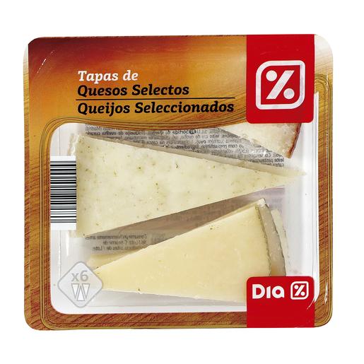 DIA mini tabla de quesos selectos envase 100 gr