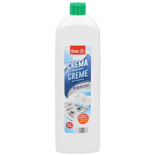 DIA crema limpiadora para baños aroma frescor botella 1 lt