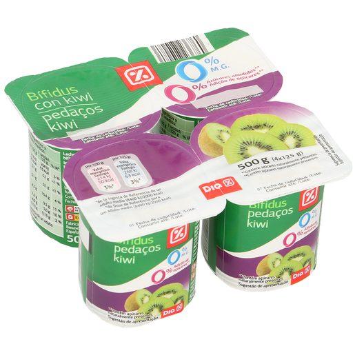 DIA bífidus de kiwi 0% M.G pack 4 unidades 125 gr