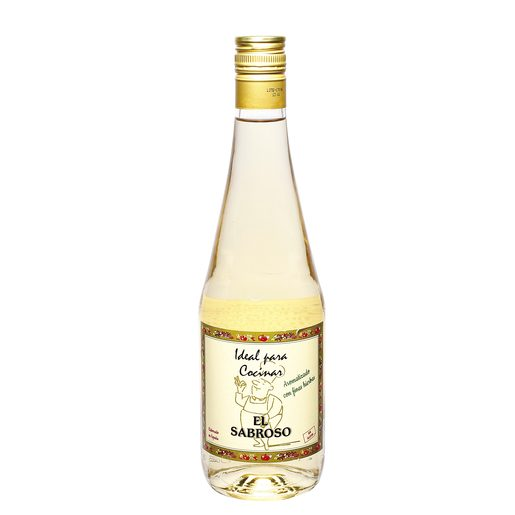 EL SABROSO vino blanco ideal para cocinar botella 70 cl