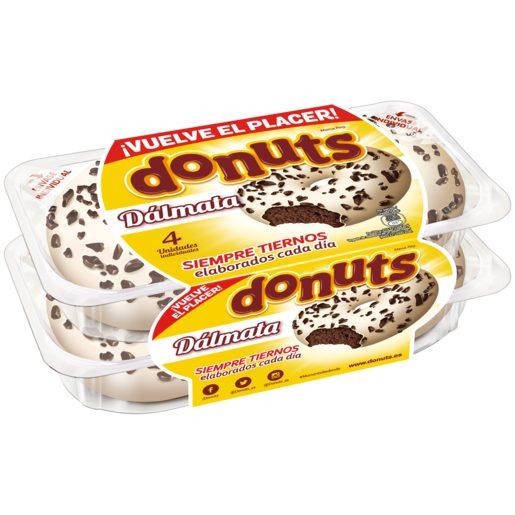 DONUTS dalmata estuche 4 uds 232 gr