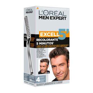 LOREAL Men expert tinte para hombre Castaño Oscuro Nº 4 caja 1 ud
