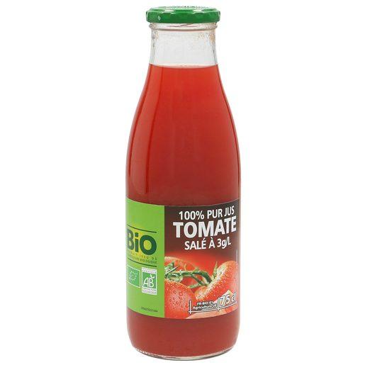 CASINO BIO zumo de tomate botella 750 ml
