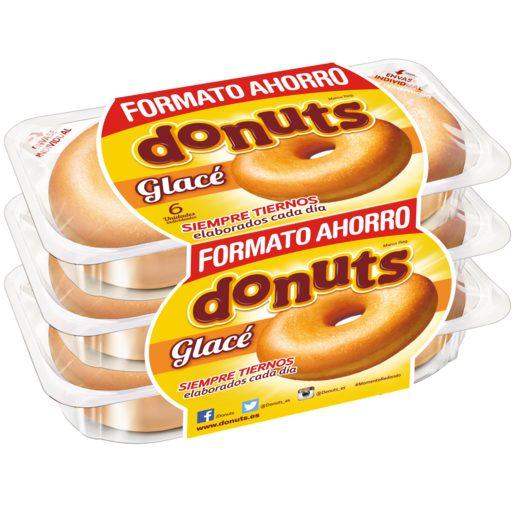 DONUTS glaseado estuche 6 uds 300 gr