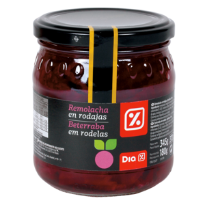 DIA remolacha en vinagre FRASCO 180GR