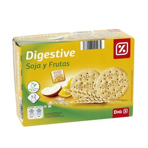 DIA galleta digestive soja fruta caja 800 gr
