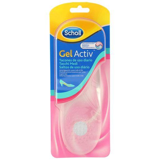 SCHOLL Gel activ plantillas uso diario para tacones talla 35.5 - 40.5