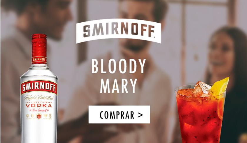 Compra online en DIA Smirnoff y prepara un Bloody Mary