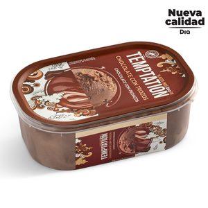 DIA TEMPTATION helado de chocolate con trozos barqueta 500 gr