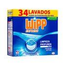 WIPP EXPRESS detergente máquina polvo maleta 34 cacitos