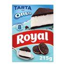 ROYAL para preparar pastel Oreo Cake 8 raciones estuche 215 grs