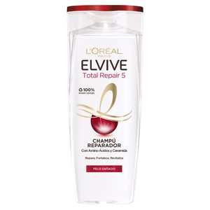 ELVIVE champú total repair 5 cabello dañado bote 285 ml