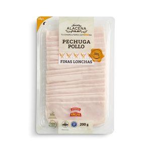 DIA NUESTRA ALACENA pechuga de pollo finas lonchas envase 200 gr