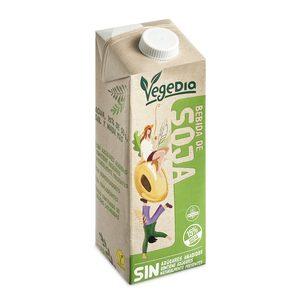 VEGEDIA bebida de soja natural envase 1 lt