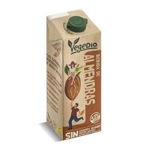VEGEDIA bebida de almendras natural envase 1 lt