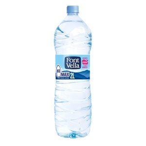 FONT VELLA agua mineral natural botella 2 lt