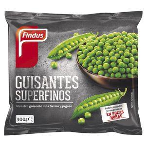 FINDUS guisantes superfinos bolsa 400 gr