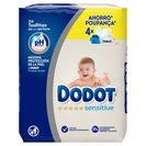 DODOT Sensitive toallitas para bebés pack 216 uds