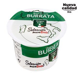 DIA SELECCIÓN MUNDIAL queso burrata tarrina 150 gr