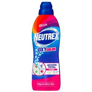 NEUTREX gel quitamanchas oxy5 color sin lejía botella 800 ml