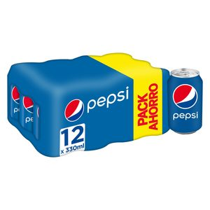 PEPSI clásica pack 12 latas 33 cl