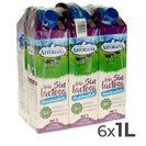 ASTURIANA leche semidesnatada sin lactosa envase 1 lt PACK 6