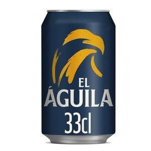 EL AGUILA cerveza rubia 1900 lata 33 cl