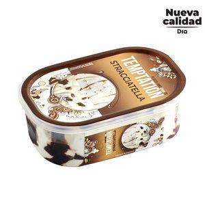 DIA TEMPTATION helado sabor stracciatella barqueta 525 gr