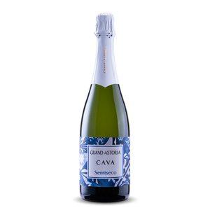 GRAND ASTORIA cava semiseco botella 75 cl