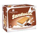 SOMOSIERRA helado sandwich nata y chocolate caja 6 uds 300 gr