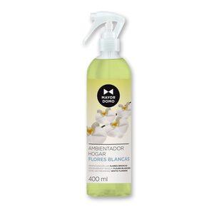 MAYORDOMO ambientador aroma flores blancas spray 400 ml