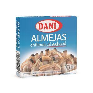 DANI almejas chilenas al natural lata 63 gr