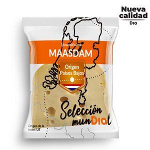 DIA SELECCIÓN MUNDIAL queso maasdam cuña 400 gr